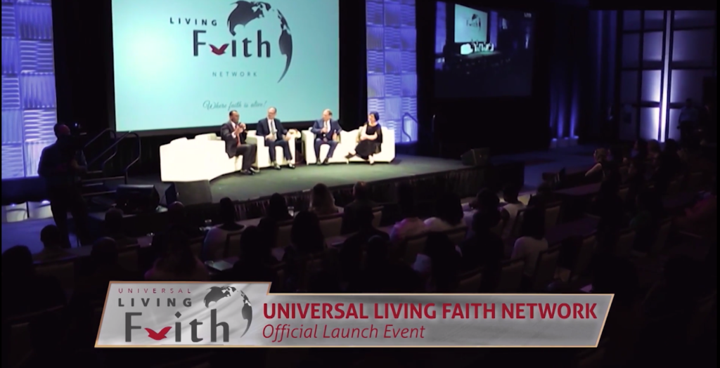 Launch Event of the Universal Living Faith Network